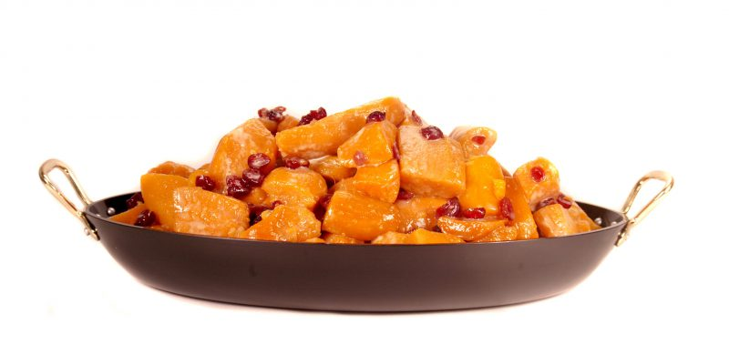 Candied Yams W Dried Cranberries